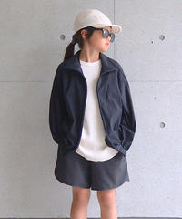 【 MOUN TEN. 2020SS 】ice stretch track jacket [MT201038-b] / black / 0(150-160)