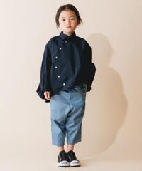 【 nunuforme 2019AW 】nf12-545-081 サークルシャツ / Navy