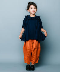 【 nunuforme 2020SS 】オックスポインテッドパンツ [ns-621-005] / Orange