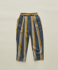 【 eLfinFolk 2020SS 】elf-201F35 regimen stripe pants / blue