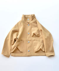 【 MOUN TEN. 2019AW 】drystretch work jacket   / beige / レディース