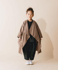 【 nunuforme 2019AW 】nf12-209-073 クロスコート / Brown
