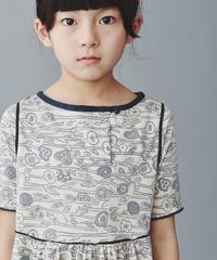 """【 ミナペルホネン 20SS 】YS8046P  sieste """" ワンピース """" / pink beige / 110cm - 120cm"""