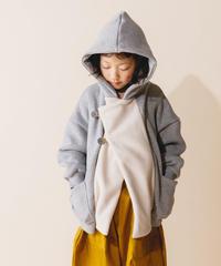 【 nunuforme 2019AW 】nf12-943-571 パーカージャケット / TopGray / 大人