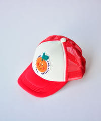 【 THE ANIMALS OBSERVATORY 2020SS 】HAMSTER NYLON ONESIZE CAP / ピーチ