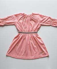 """【 ミナペルホネン 18AW 】WA8929P choucho """"ワンピース"""" / pink / 110-140cm"""