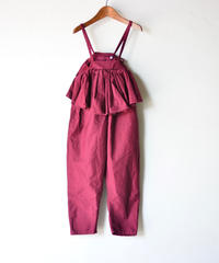 【 folk made 2019AW 】salopette / bordeaux / size レディース