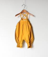 【 folk made 2020SS 】#1 baby sallopette / mustard
