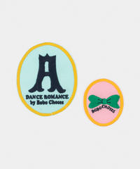 【 Bobo Choses 2020SS 】12011020	Dance Company Iron-On Patches Pack