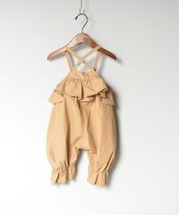 【 folk made 2020SS 】#1 baby sallopette / beige
