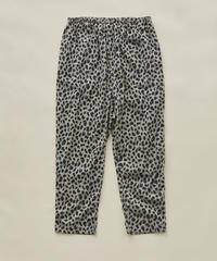 【 eLfinFolk 2020SS 】elf-201F55 leopard pants / gray / 大人