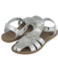 """【 Saltwater Sandals 20SS】 海でも履けるソルトウォーターサンダル  """"Shark Original Premium""""  / シルバー / 23.5 - 25cm"""