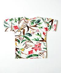 """【 WAWA 20SS 】SIMPLE TEE - SEAWEED """" Tシャツ """"  / 2Y - 8Y"""