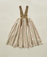 【 eLfinFolk 2020SS 】elf-201F36 regimen stripe skirt / ivory / 90, 110, 130cm