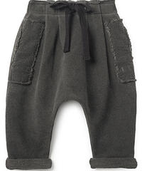 【 Little Creative Factory 2018AW】Baby Stretchy Pants / GRAPHITE