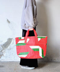【 THE ANIMALS OBSERVATORY 2020SS 】CANVAS TOTEBAG ONESIZE TOTEBAG(001270_006_RB)/ レッド