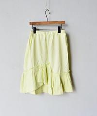 【 folk made 2018SS】No.16 tulle skirt / アイボリー / 大人サイズ