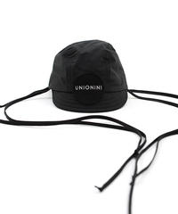 "【 UNIONINI 2020SS 】AC-037 cycling cap "" キャップ ""  / black"