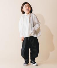 【 nunuforme 2019AW 】nf12-545-081 サークルシャツ / White