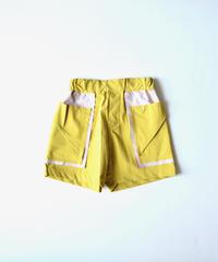 【 nunuforme 2020SS 】バイカラーショートパンツ [nf13-629-088]  / ピーカブーヤ別注カラー