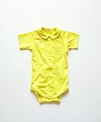 """【 ミナペルホネン 20SS 】YS8037P choucho  """" ロンパース """" / yellow / 70 - 80cm"""
