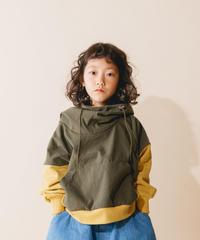【 nunuforme 2019AW 】nf12-965-503 ミックスパーカー / Kahki / 大人