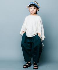 【 nunuforme 2020SS 】オックスポインテッドパンツ [ns-621-005A] / Green / F(レディース)
