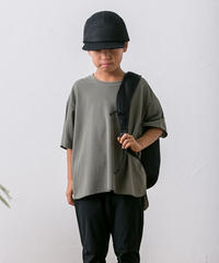 【 MOUN TEN. 2020SS 】seed stitch T [MT201014-b] / khaki / 0(150-160)