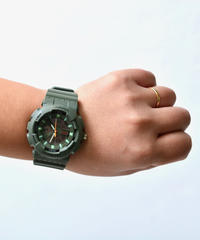 【 THE PARK SHOP 】TPS-259 MUDBOY WATCH / Olive