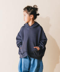 【 nunuforme 2019AW 】nf12-947-503 ビッグパーカー / Charcoal / 大人