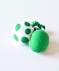 """【 ミナペルホネン 20SS 】YS7943P cidre """"ヘアゴム"""" / green"""