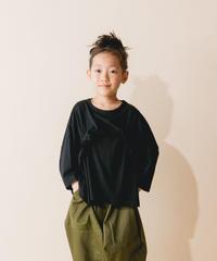 【 nunuforme 2019AW 】nf12-967-500 タックフリルT / Black / 大人