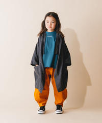 【 nunuforme 2019AW 】nf12-209-073 クロスコート / Charcoal