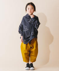 【 nunuforme 2019AW 】nf12-621-007カツラギポインテッドパンツ / Mustard