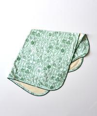 """【 ミナペルホネン 20SS 】YS7936P sieste  """" おくるみ """" / light green"""