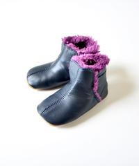 【当店限定】【 OLD SOLES 2019AW】 #045 Polar Boots / ピーカブーヤ別注カラー NAVY / PLUM FUR