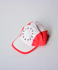 【 THE ANIMALS OBSERVATORY 2020SS 】HAMSTER ONESIZE CAP / ホワイトxレッド