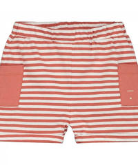 """【 GRAY LABEL 2020SS】Relaxed Pocket Shorts  """"ショートパンツ"""" / Faded Red/Off White Stripe / 80-90cm"""