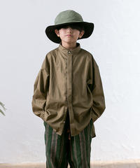 【 MOUN TEN. 2020SS 】80/1 washer big shirts [MT201004-a]  / khaki