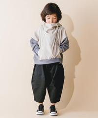 【 nunuforme 2019AW 】nf12-621-007カツラギポインテッドパンツ / Black  / 大人