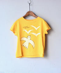 【 THE ANIMALS OBSERVATORY 2020SS 】ROOSTER KIDS T-SHIRT / イエロー / 4Y , 6Y , 8Y