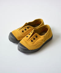 【 Cienta 2018AW 】デッキシューズ 955777 / mustard / dyed / 13~21cm