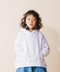 【 nunuforme 2019AW 】nf12-947-503 ビッグパーカー / White / 大人