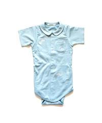 """【 ミナペルホネン 20SS 】YS8037P choucho  """" ロンパース """" / blue gray / 70 - 80cm"""