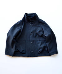【 MOUN TEN. 2019AW 】drystretch work jacket   / black / 150 - 160