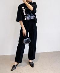 【NEW】【UNISEX】BOLDNESSフロッキープリントTシャツ