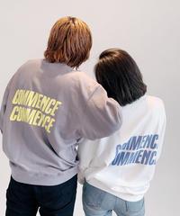 【UNISEX】COMMENCEロゴプルオーバー