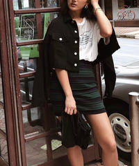 Bumpy KNIT skirt