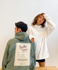 "【UNISEX】""vintage poster motif ""ビッグフーディー"