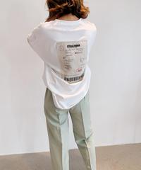 【NEW】【UISEX】receiptモチーフTシャツ